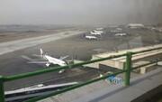 جزئیات فرود اضطراری پرواز باکو - دوبی در فرودگاه شیراز | مشاهده دود در کابین هواپیما