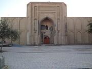 نفوذ آب به زیر مسجد تاریخی ورامین؛ خطر تخریب نزدیک است | بخشی از محوطه مسجد فرو ریخت