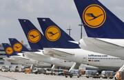 دهها پرواز شرکتهای تابعه لوفت هانزا لغو شد | تصاویر سرگردانی مسافران در فرودگاههای آلمان