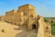 فیلم | تخریب نارین قلعه | بخشی از دیوار نارین قلعه میبد ریزش کرد