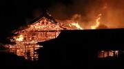 یک میراث جهانی در آتش سوخت | نابودی قلعه ۵۰۰ ساله ژاپنیها در میانه جشن