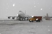 اطلاعیه فرودگاه مهرآباد برای پروازهای روز برفی | مسافران تماس بگیرند