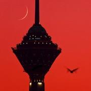 برج میلاد سرخ | نشنال جئوگرافیک در ناآرامیها یاد تهران افتاد