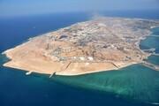 سفر برادر امیر قطر به جزیره ابوموسی | انتشار تصویر جزیره ابوموسی با پرچم ایران