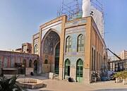 آغاز عملیات مقاومسازی مسجد شیخ فضلالله در تهران
