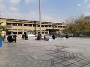 دیوارهای مدرسه حافظ صدای کلنگ میدهند