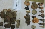 کشف بیش از ۷۰۰ قلم شی تاریخی در گیلان