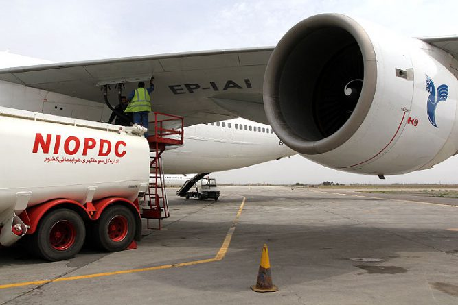 Iranian Airlines Fuel