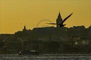 غروب استانبول + عکس