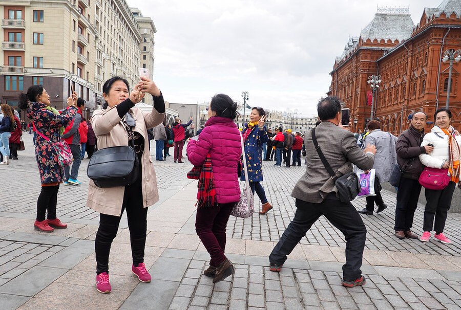Chinese Tourists - Russia