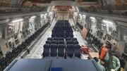 داخل هواپیمای غولپیکر نظامی هند در فرودگاه امام خمینی(ره) + عکس