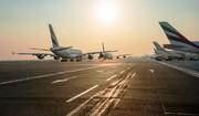 یک سوم هواپیماهای دنیا با ادامه گسترش کرونا در آشیانه آرام گرفتند
