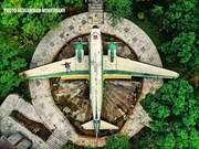 داکوتای خفته در فرحآباد | عکس هواپیمای آمریکایی وسط تهران