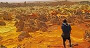 سفر به عجایب اتیوپی | دالول؛ بیابانی آتشفشانی با بزرگترین حفرههای آب گرم جهان