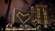 هتلهای دوربان با عشق و امید روشن شدند