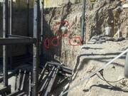 کشف چند گور قدیمی در گودبرداری یک واحد مسکونی در بیجار