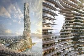 بلندترین برج جهان در نیویورک با طرح مفهومی برج مکنده کربن